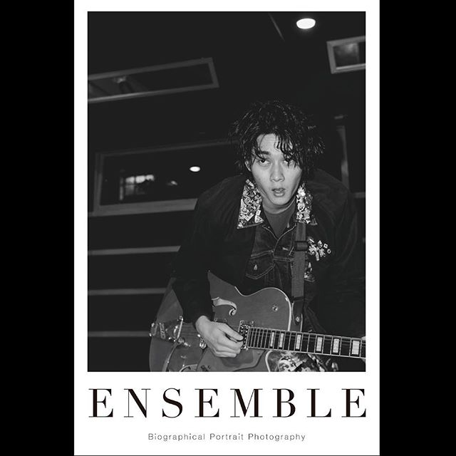 _ Portrait poster from 「Ensemble02」.For our first exhibition [OPUS ONE] at Omotesando Rocket in January 2018. Size:614×910  #shuntaroyanagi  #柳俊太郎 #tableensemble  #ensemble