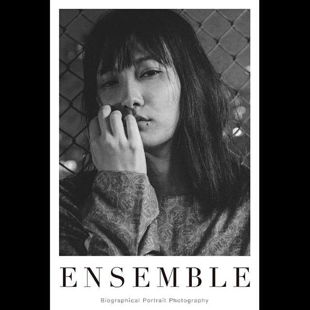 _ Portrait poster from 「Ensemble02」.For our first exhibition [OPUS ONE] at Omotesando Rocket in January 2018. Size:614×910  #chiakisato  #佐藤千亜妃  #tableensemble  #ensemble