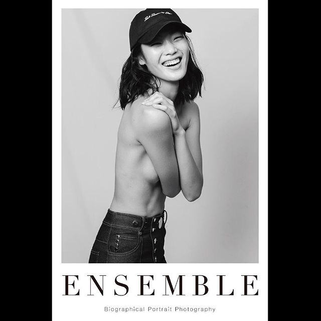 _ Portrait poster from 「Ensemble02」.For our first exhibition [OPUS ONE] at Omotesando Rocket in January 2018. Size:614×910  #chiharu #tableensemble  #ensemble