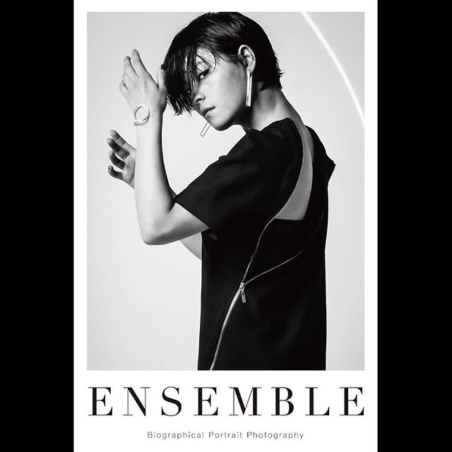 _ Portrait poster from 「Ensemble01」.For our first exhibition [OPUS ONE] at Omotesando Rocket in January 2018. Size:614×910  #koharusugawara  #菅原小春  #tableensemble  #ensemble
