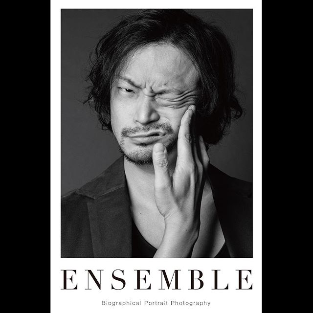_ Portrait poster from 「Ensemble01」.For our first exhibition [OPUS ONE] at Omotesando Rocket in January 2018. Size:614×910  #daitomanabe  #真鍋大度  #tableensemble  #ensemble