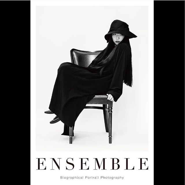_ Portrait poster from 「Ensemble01」.For our first exhibition [OPUS ONE] at Omotesando Rocket in January 2018. Size:614×910  #ichikoaoba  #青葉市子 #tableensemble  #ensemble