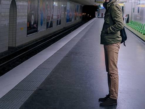M65 Minifield Winter - Test dans le métro Parisien - sur la ligne 9 pour les curieux