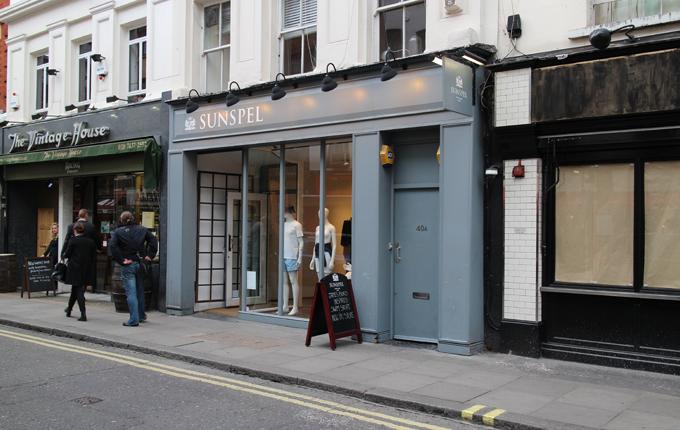 La boutique londonienne