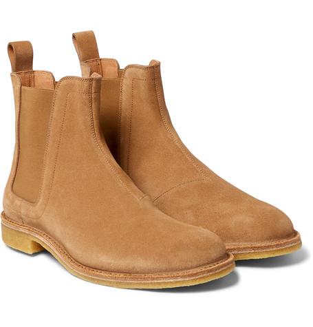 suede boots balenciaga