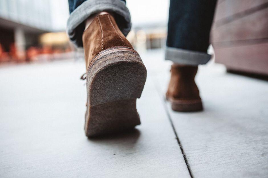 astorflex boots desert cuir semelles