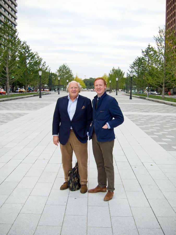 Michael Drake (à gauche) et Michael Hill Photo du StyleForum