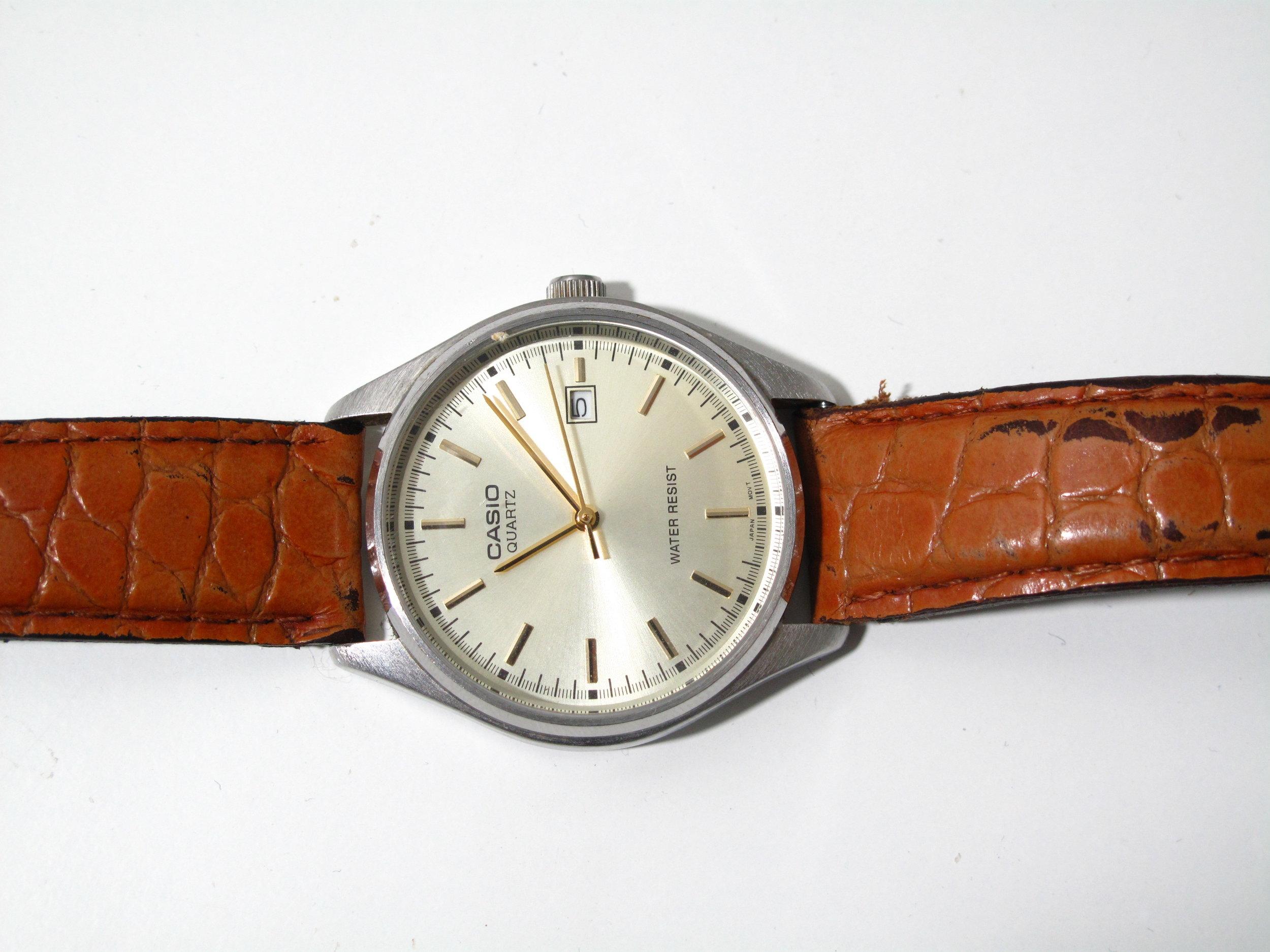 Casio-montre_cuir