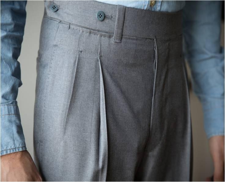 Pantalon Ambrosi Napoli Credit photo : parisian gentleman