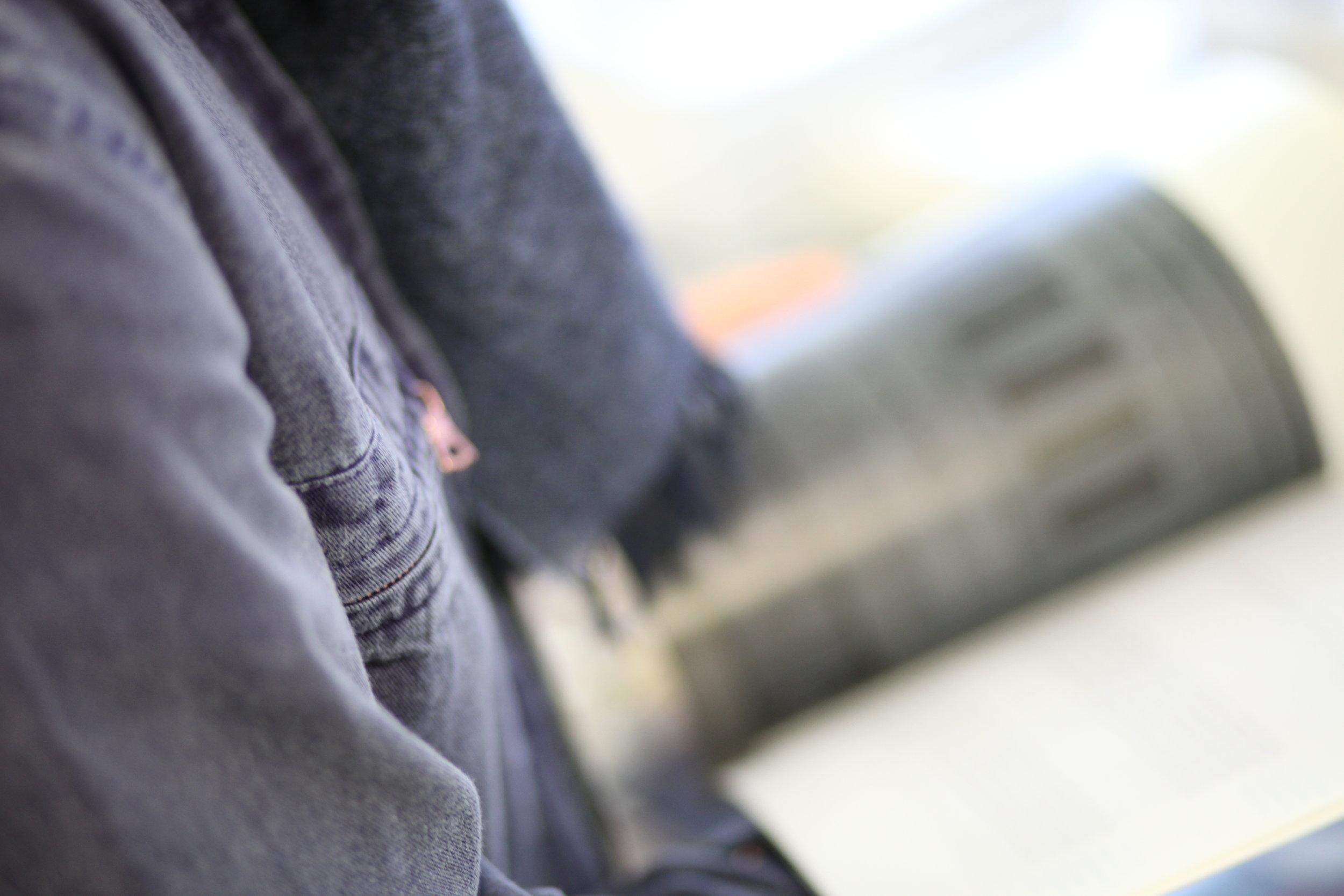 Private white vc test blouson londres mechanic coton été paris