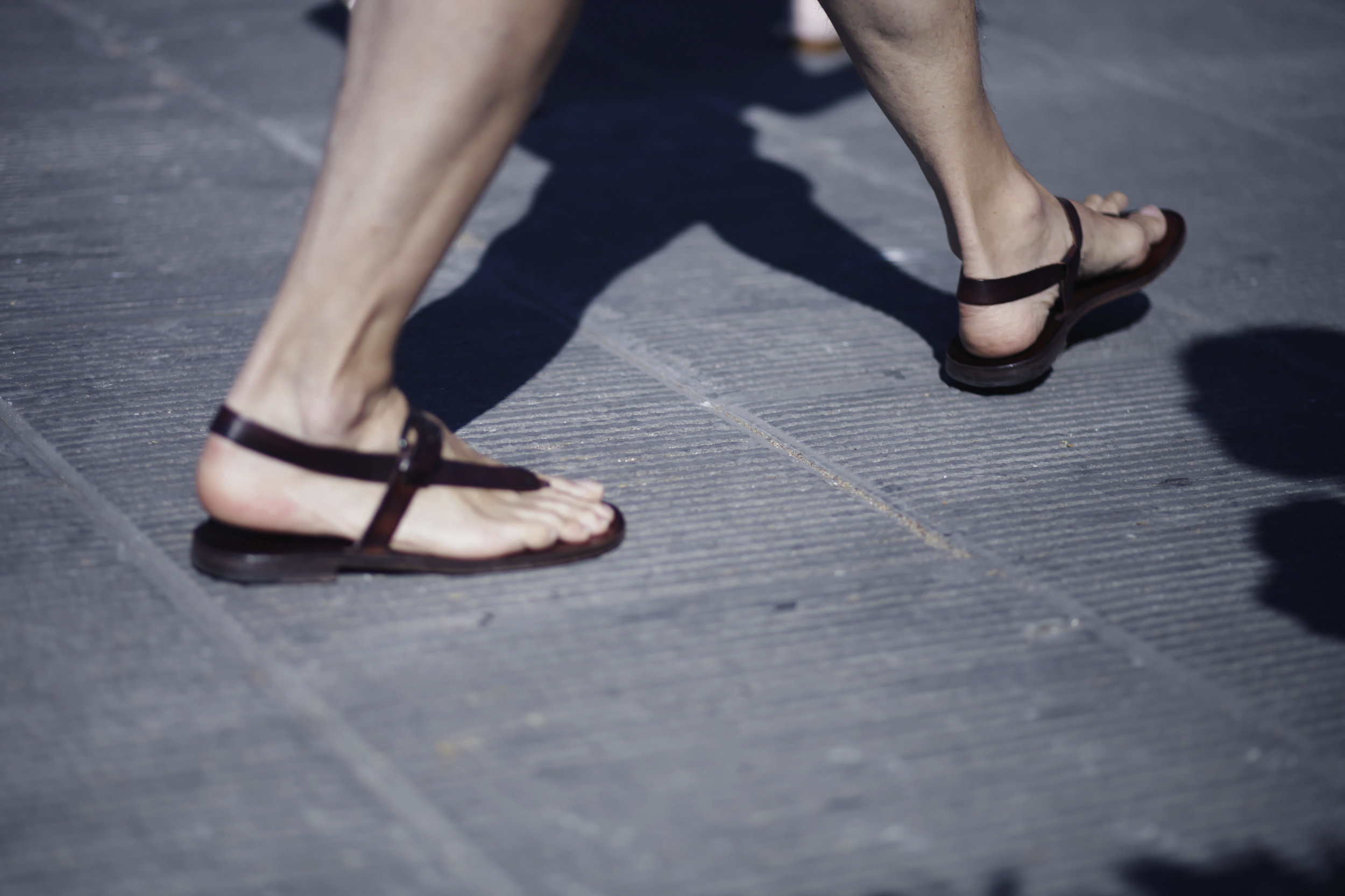 Pitti Uomo les indispensables paris 92 Florence sandales