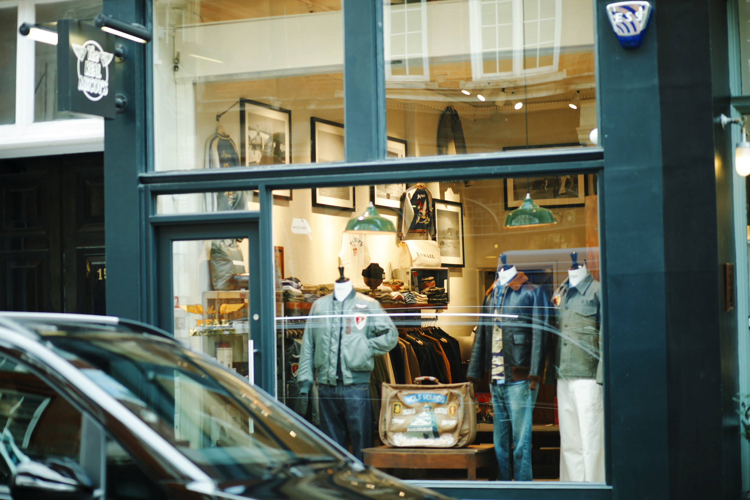 The Real McCoy's London - Boutique londonienne