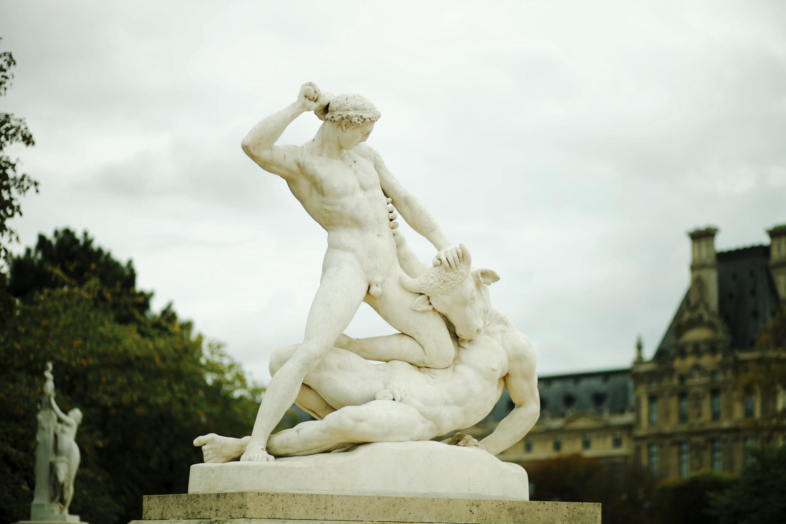 Paris jardins tuileries