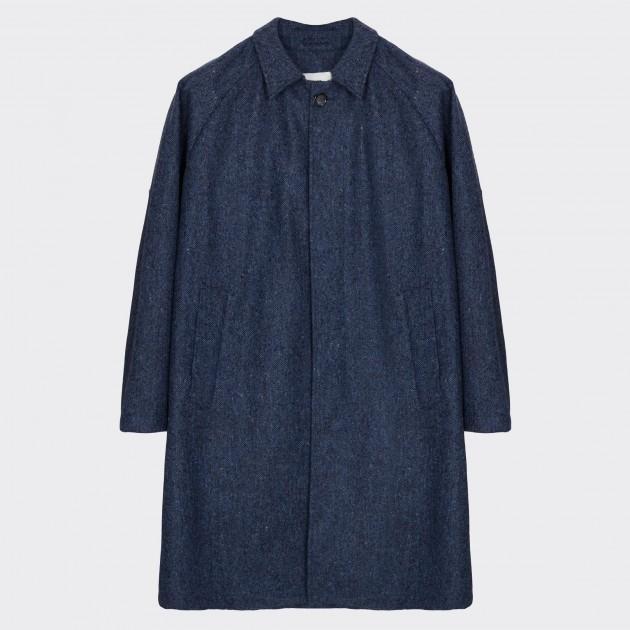 Mac en laine avec membrane waterproof - Loro Piana