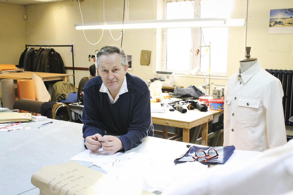 Designer Private White VC - Nick Ashley - Photo du magazine The Rake