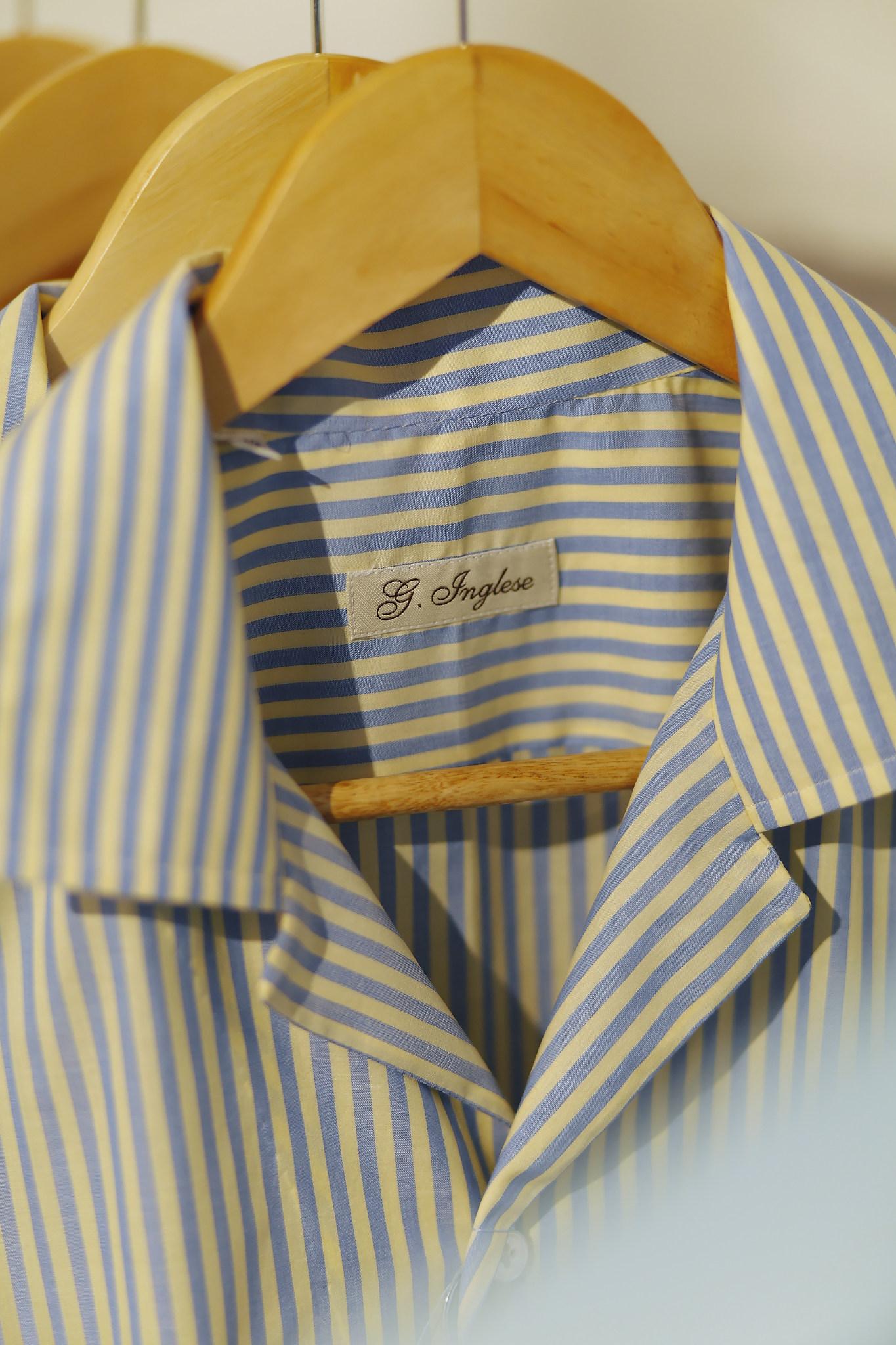 G.Inglese, une des plus belles marques de chemise au monde