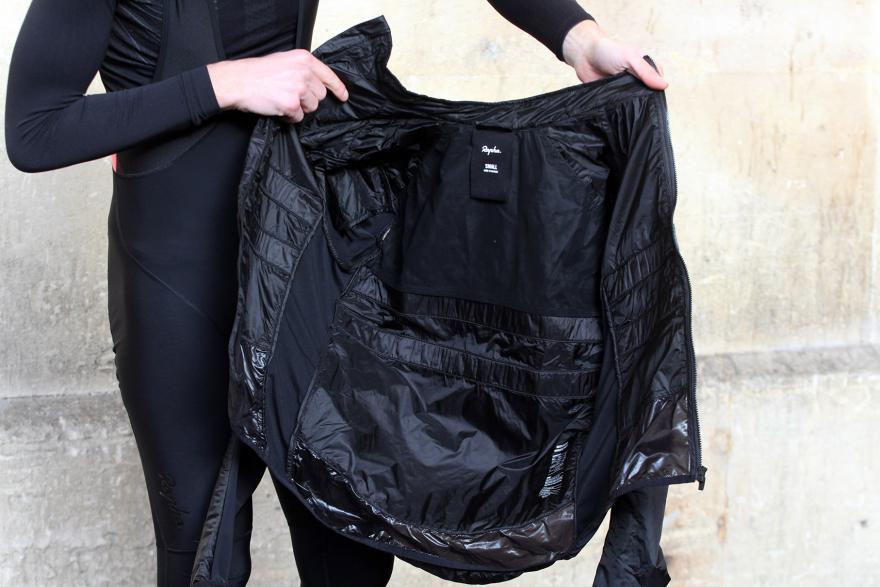 Brevet Insulated jacket - bénéficie de la technologie de Polartec (Photo Road.cc)