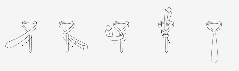 Noeud de cravate simple - The Nine