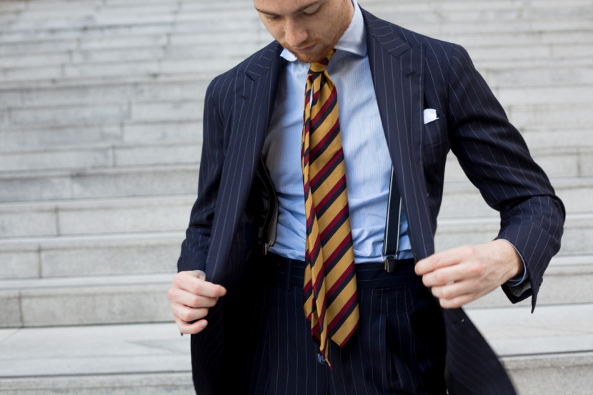 Jake Grantham - Cravate du groupe japonais Tie your Tie