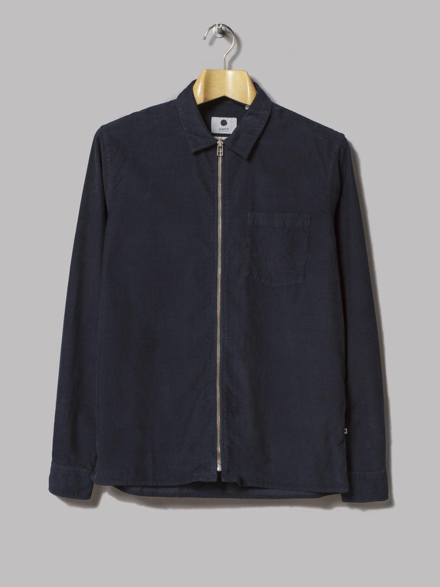 Sur-chemise NN07 - Parfaite au dessus d'un t-shirt gris chiné