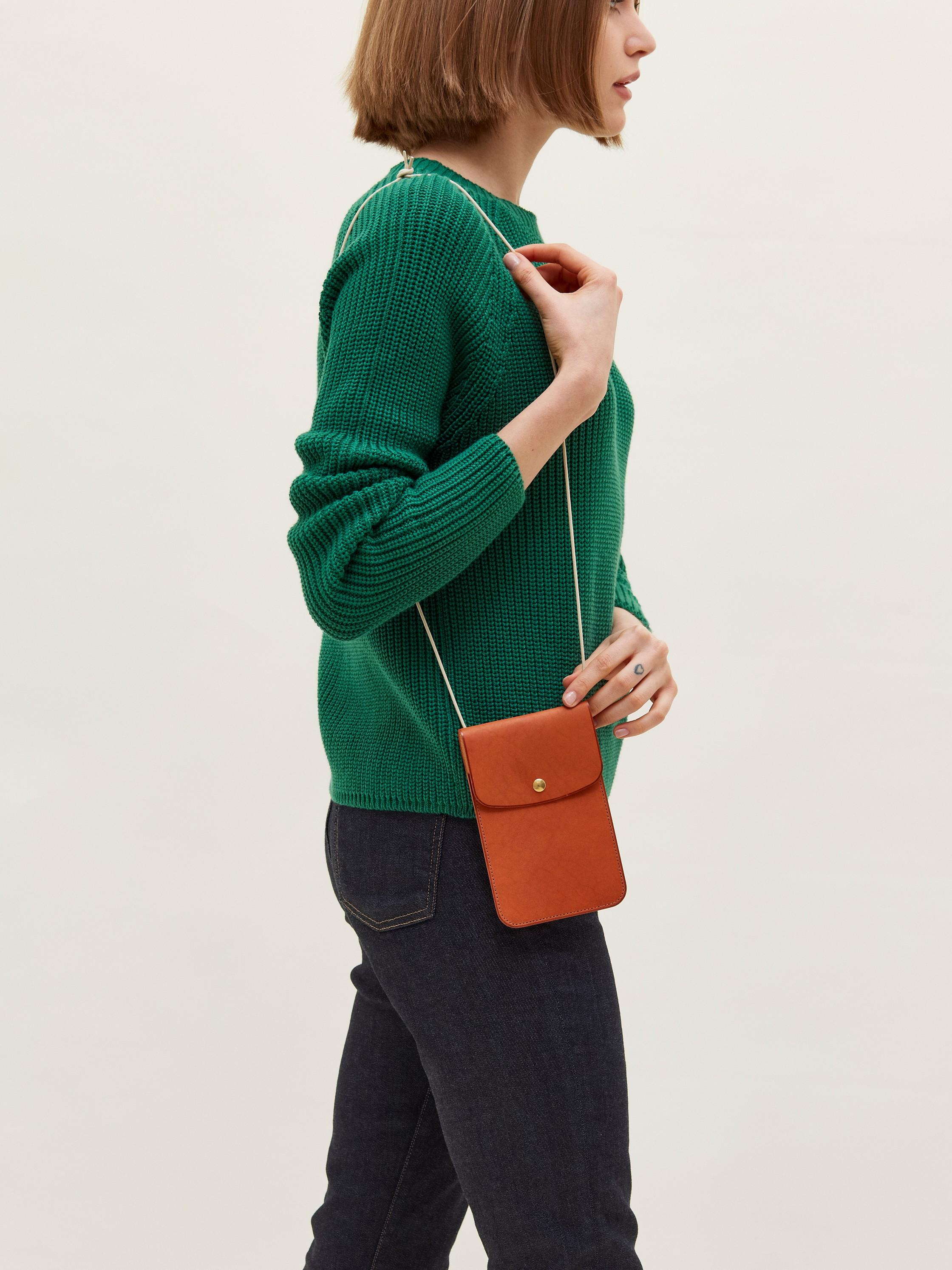 La Perruque - Pochette, cuir