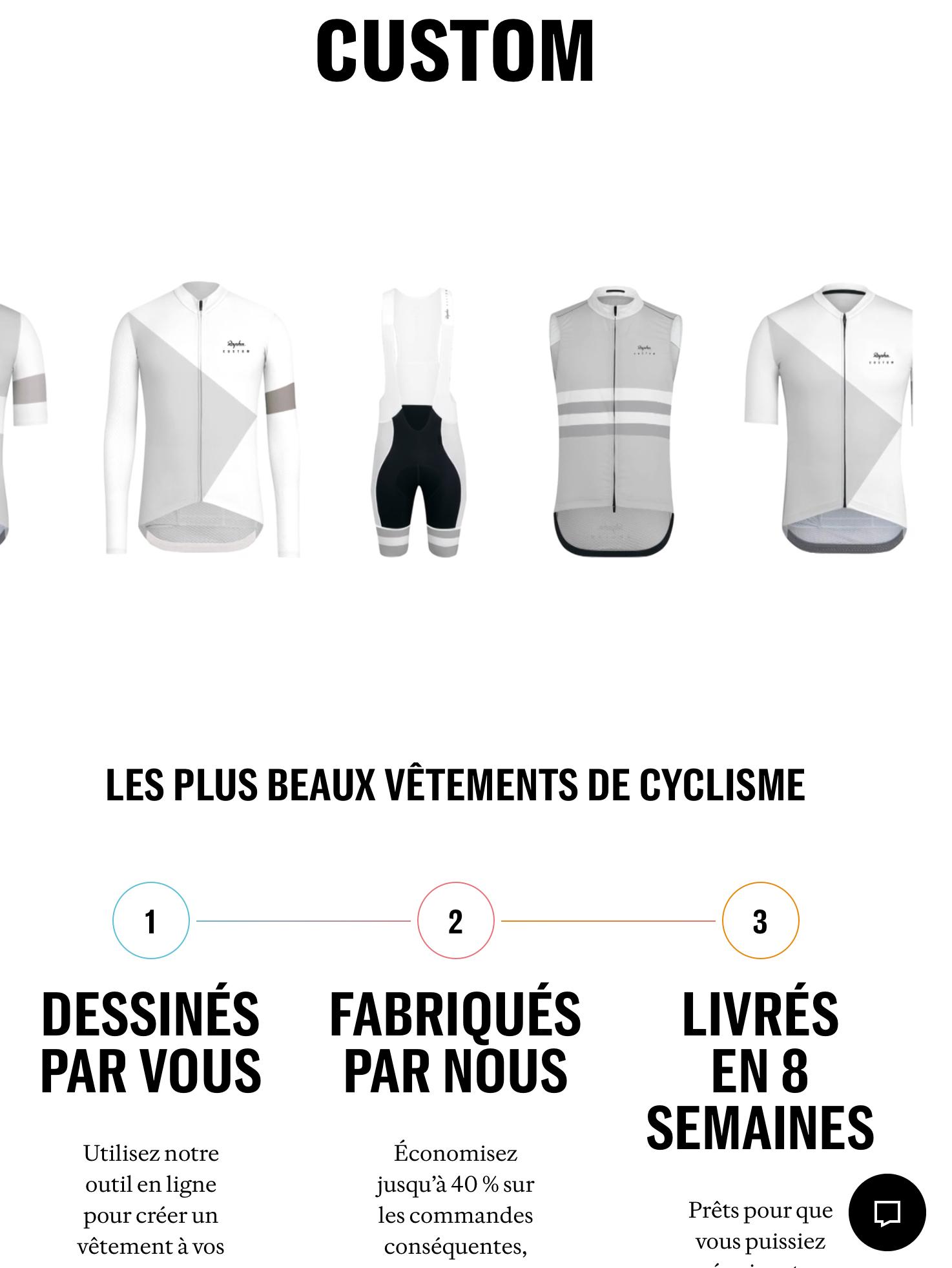 Le nouveau service de personnalisation de maillots