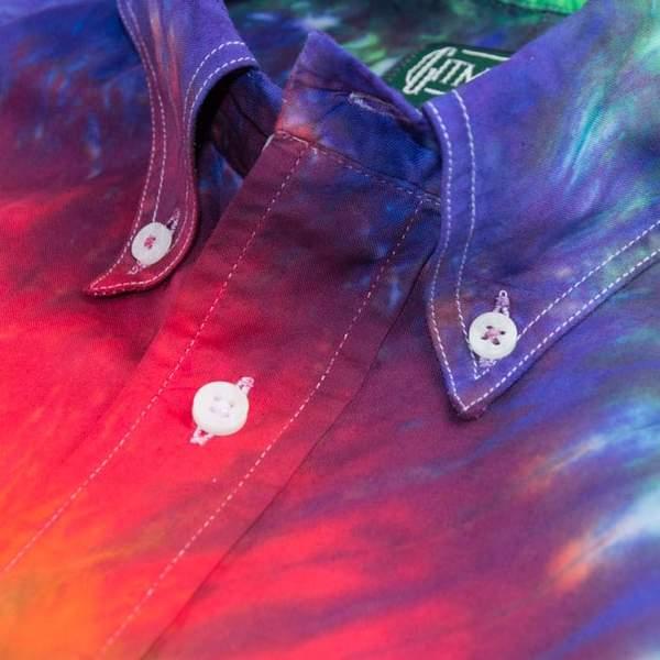gitman vintage tie dyed