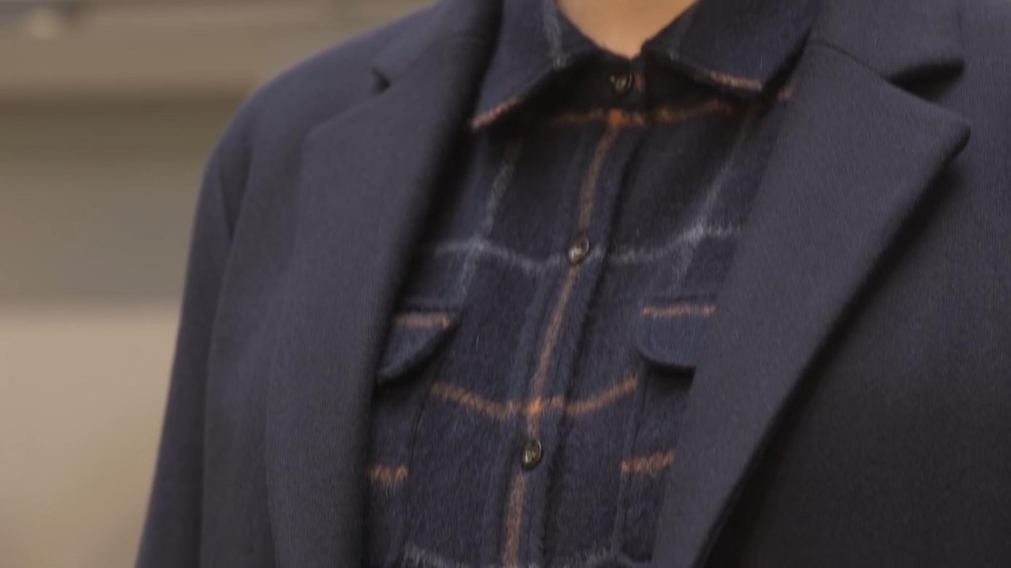 Sur-chemise en laine