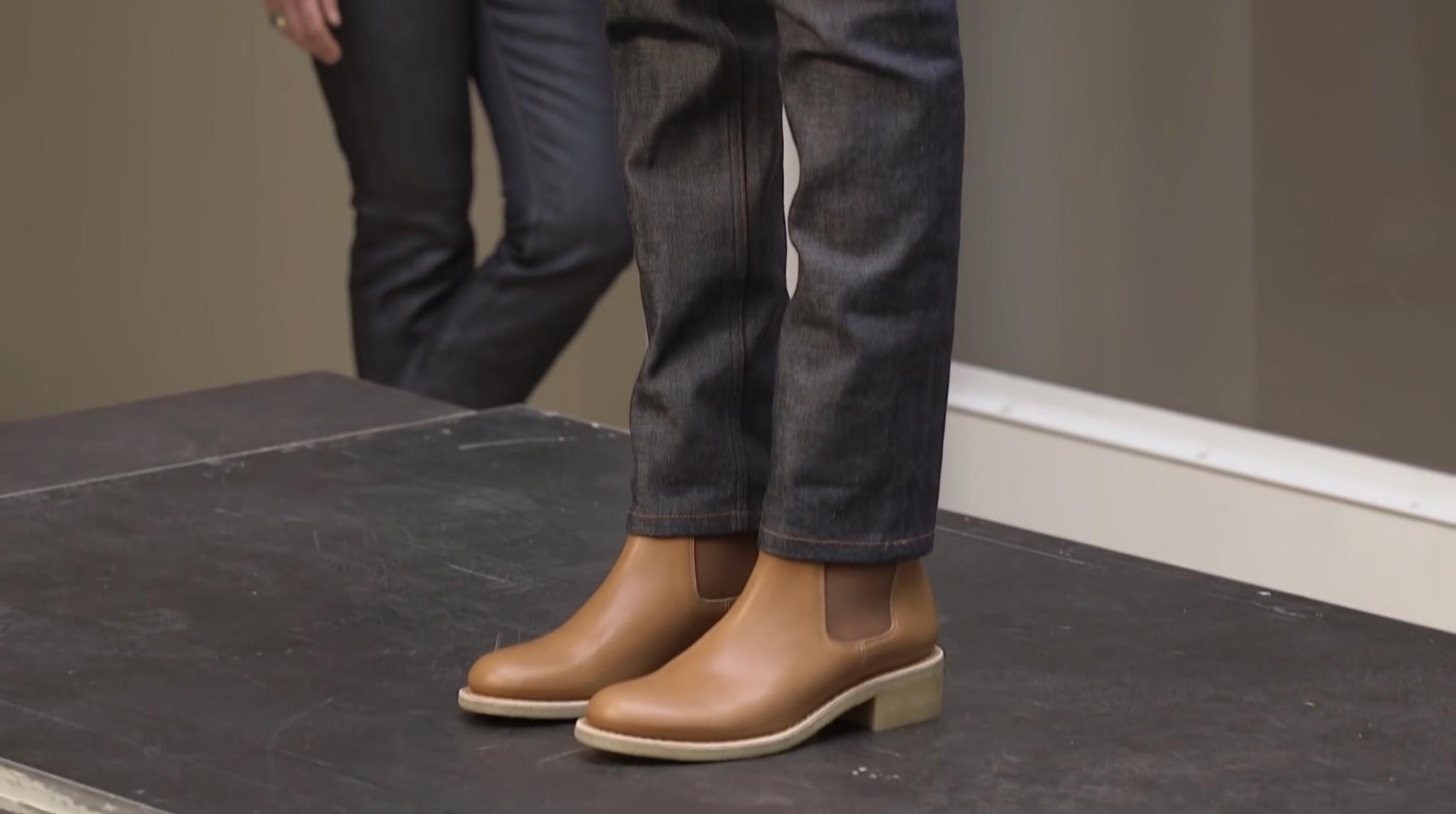Boots tannage végétal