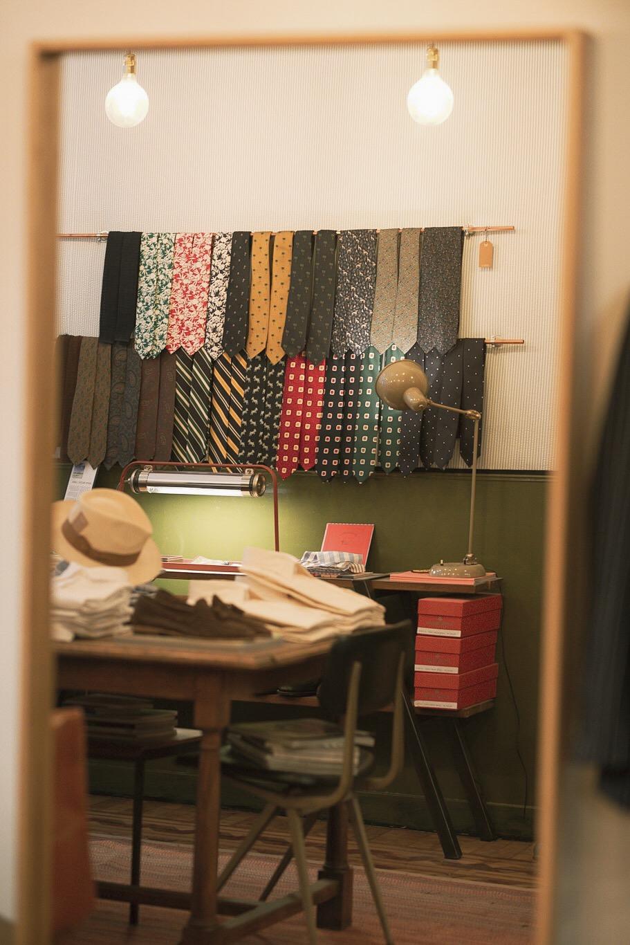 Une très belle sélection de cravates