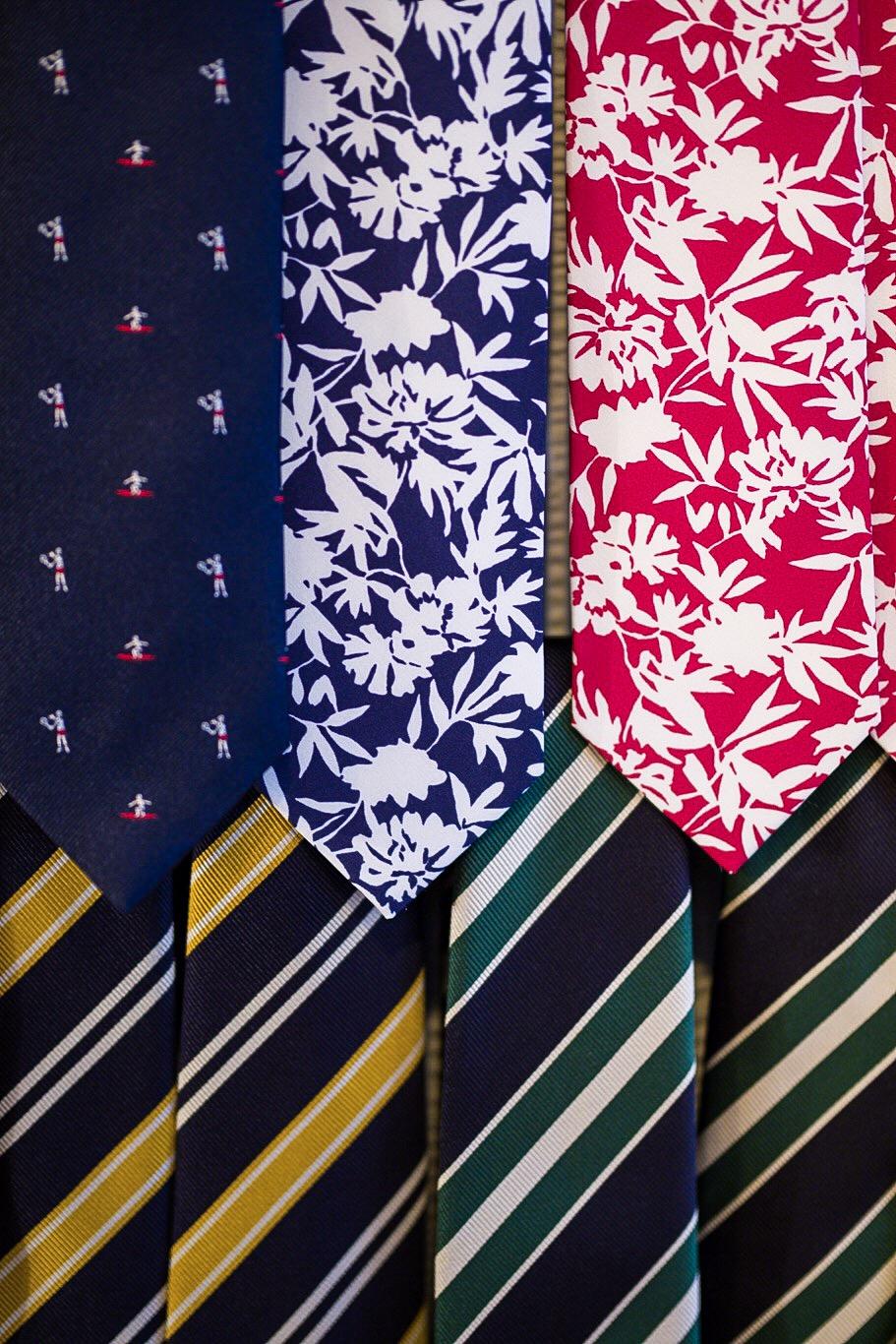 Cravates club et à motifs