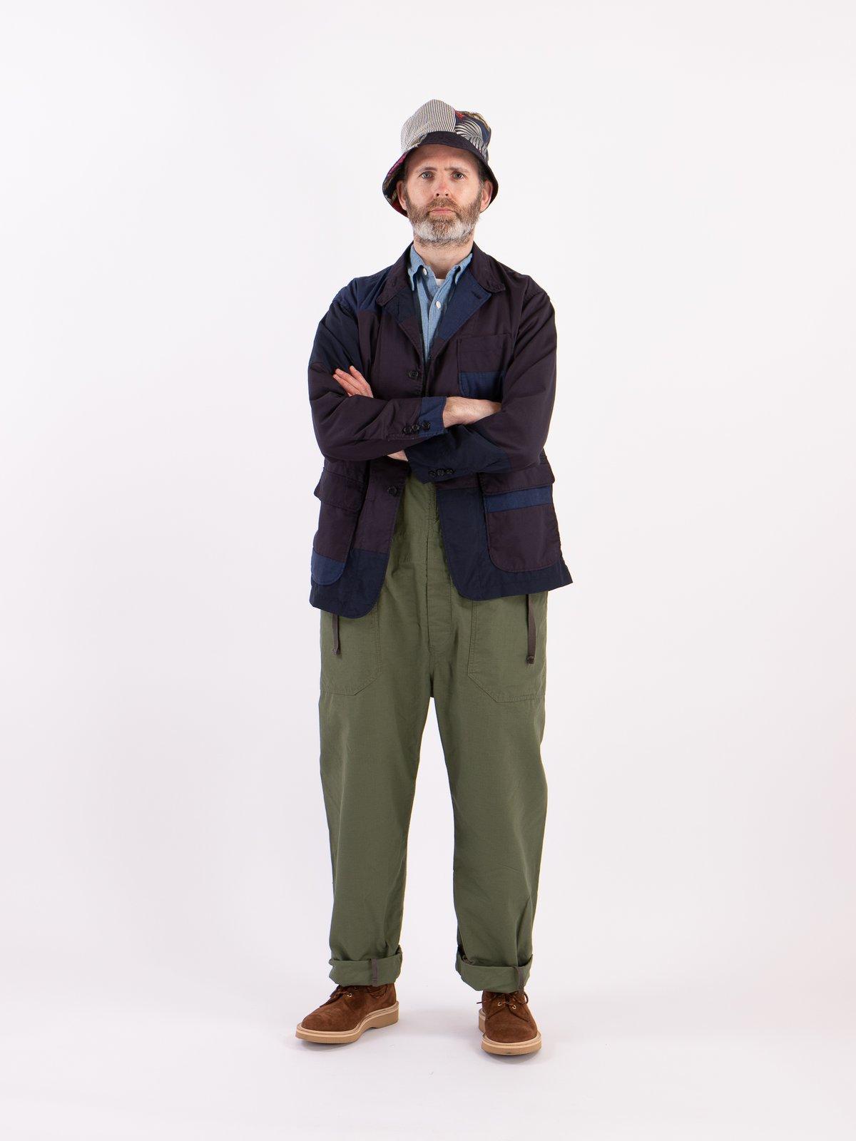 Les patchworks sont très présent chez Engineered Garments