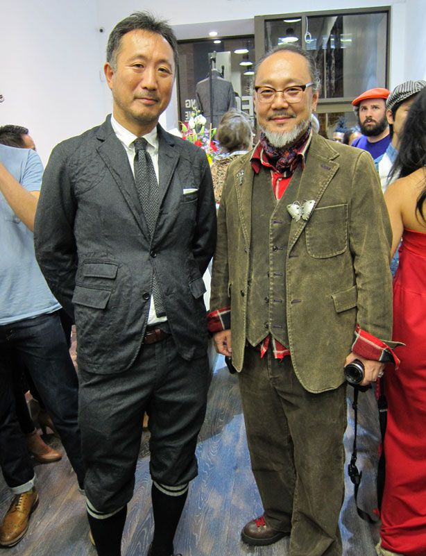 Daiki Suzuki (à gauche) et Keizo Shimizu (à droite)  Crédit photo : Esquire.com