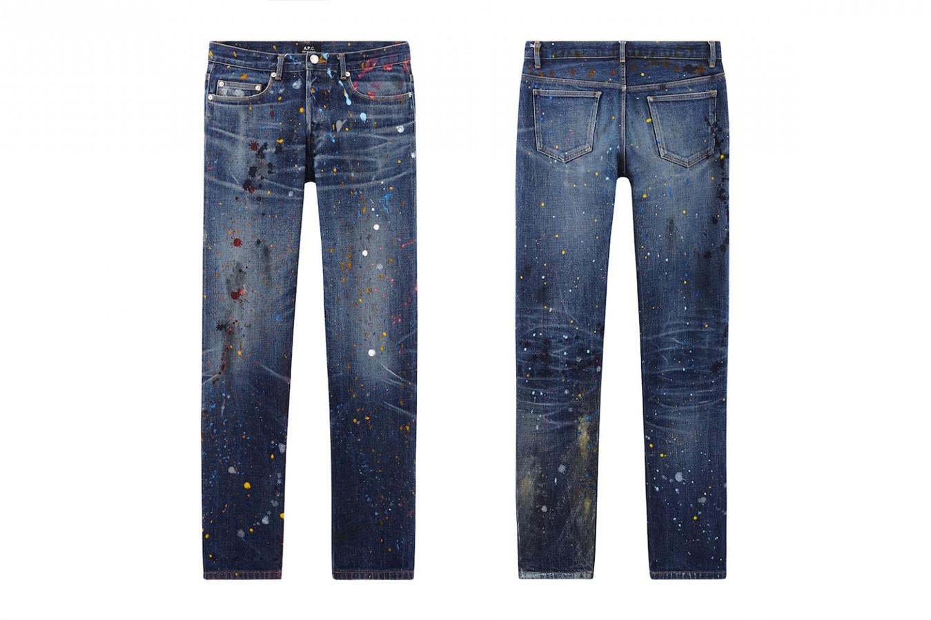 Des jeans qui sont lavés au savon de Marseille - Oui oui !
