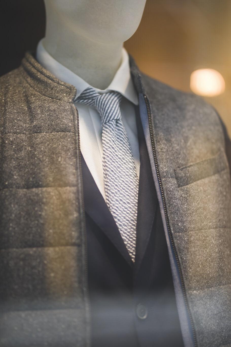 Cravate en Seersucker