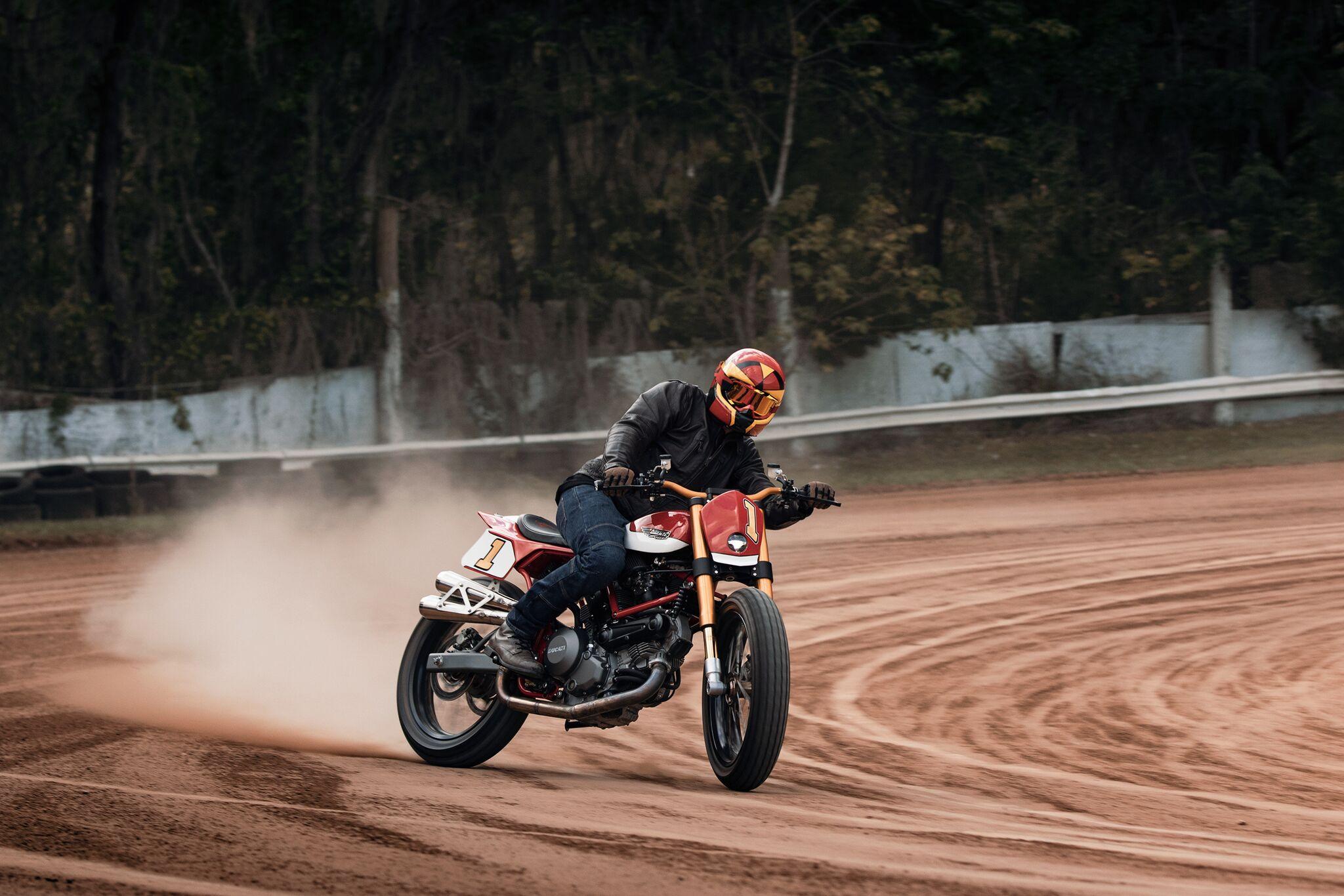 Fuller Moto Ducati Flat Tracker