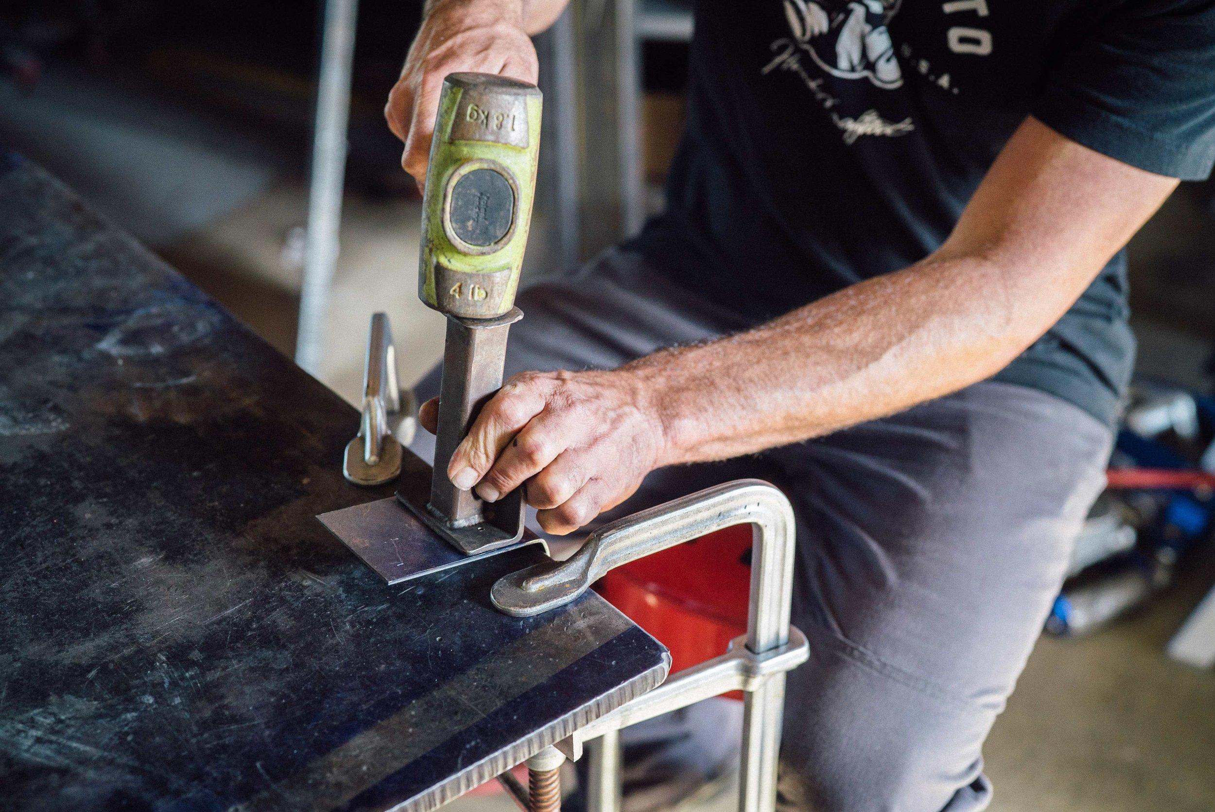 Fuller Moto Torch Welding Holder Brake