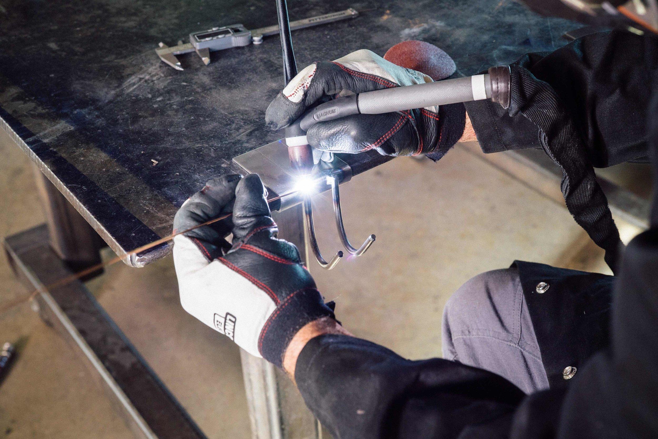 Fuller Moto TIG Welding Torch Holder | Weld