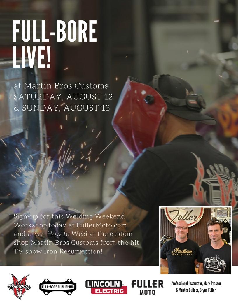 Welding Workshop Martin Bros Customs