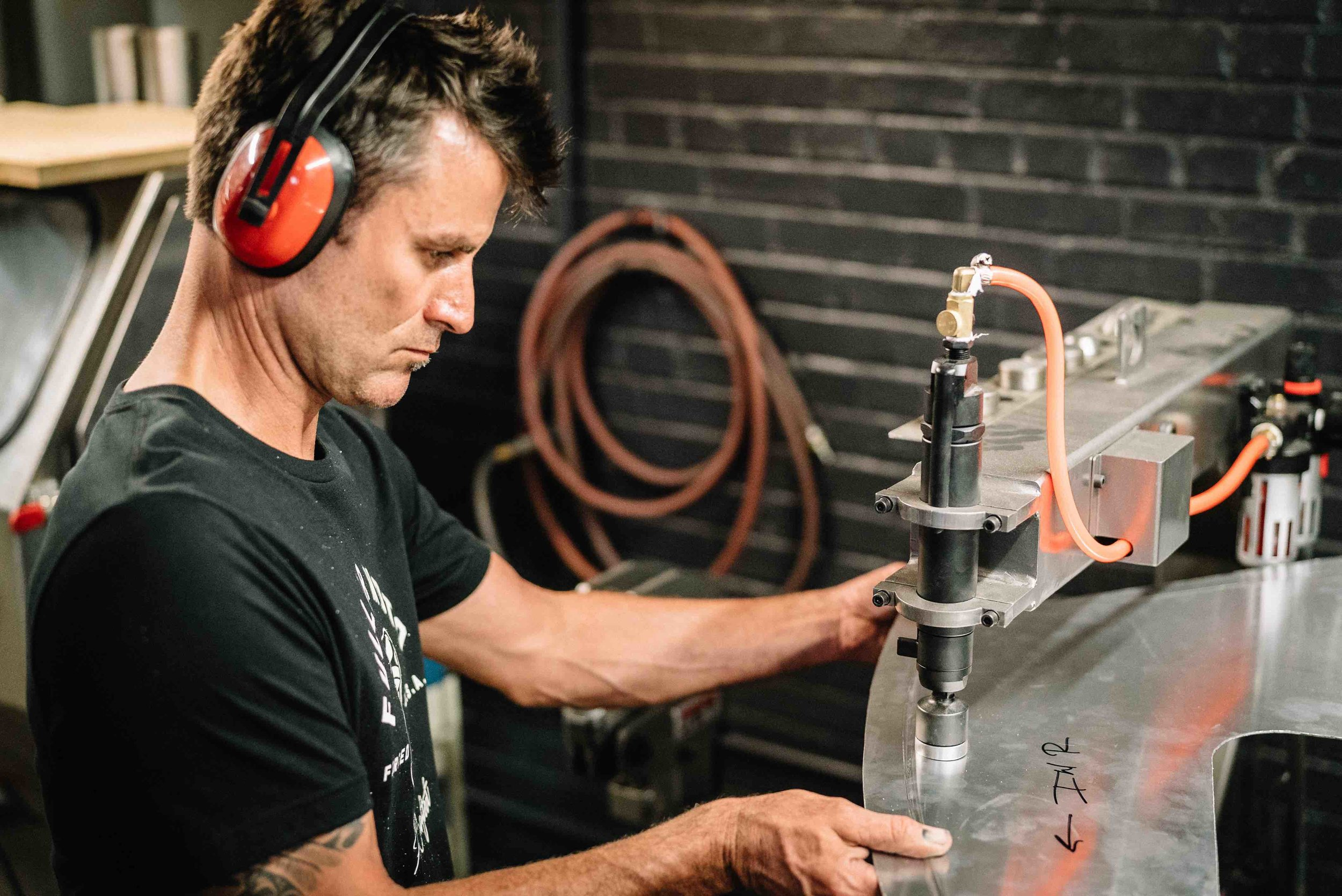 Planishing Hammer Aluminum Fenders DIY