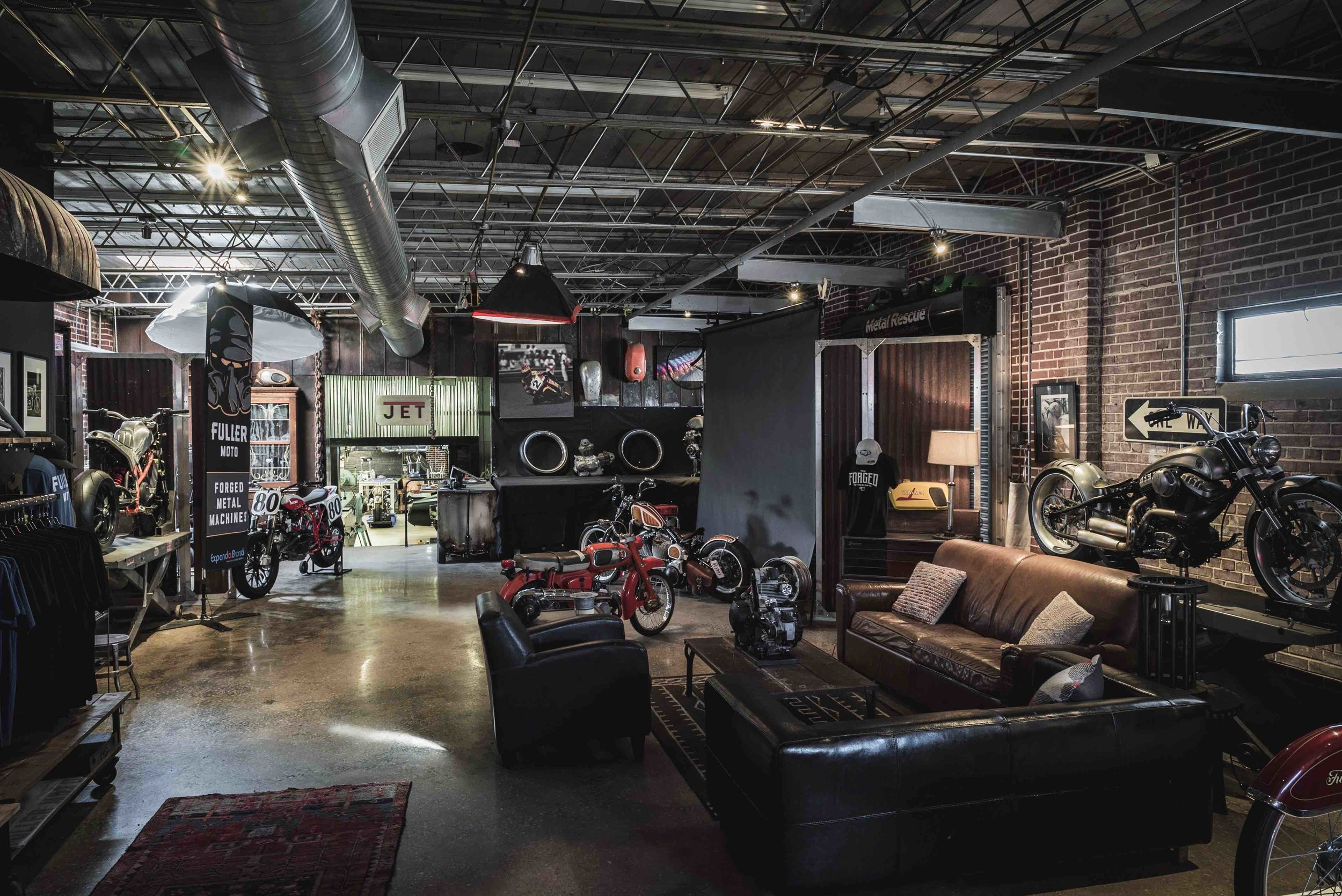 Fuller Moto Shop Space