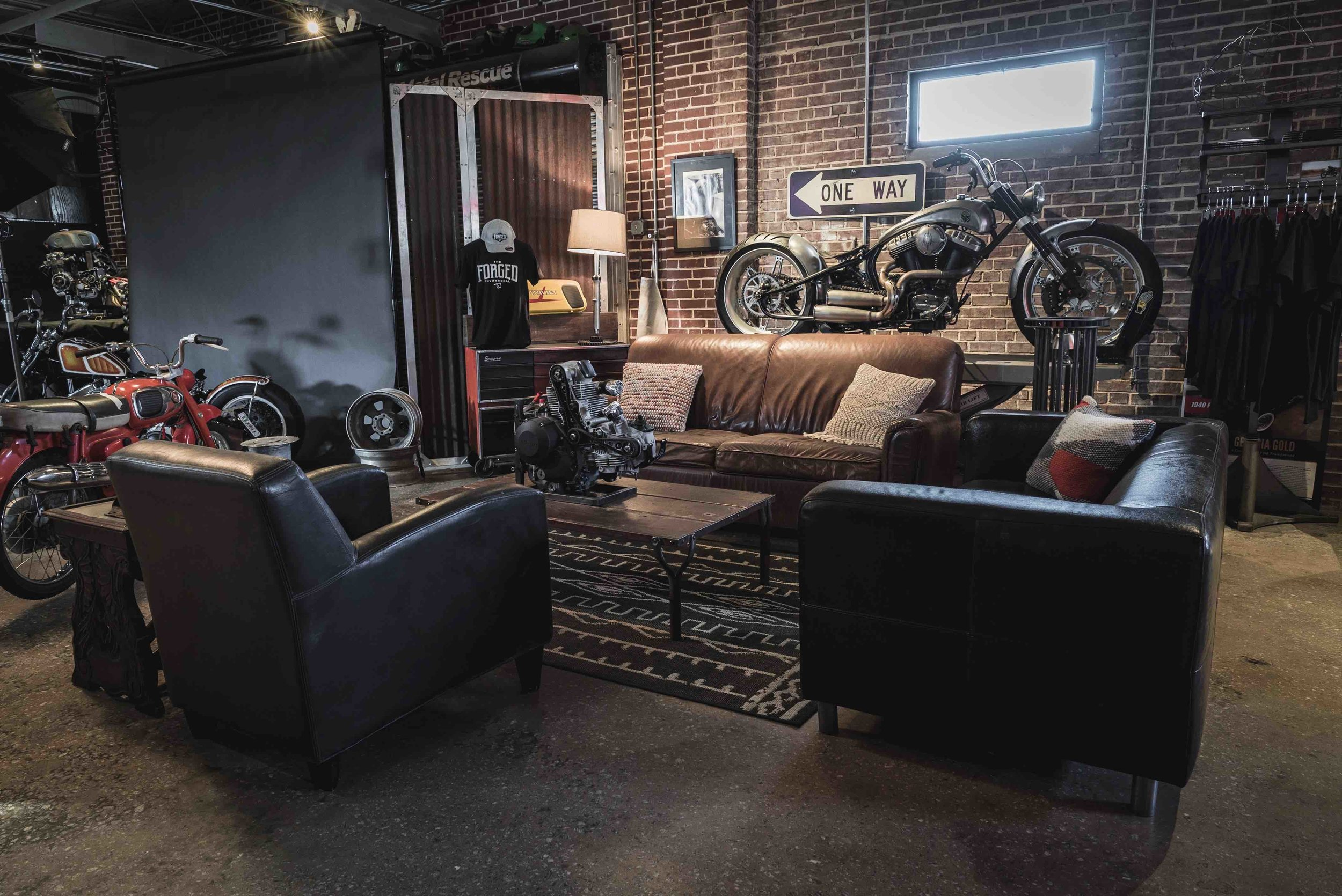 Fuller Moto Shop Event Space