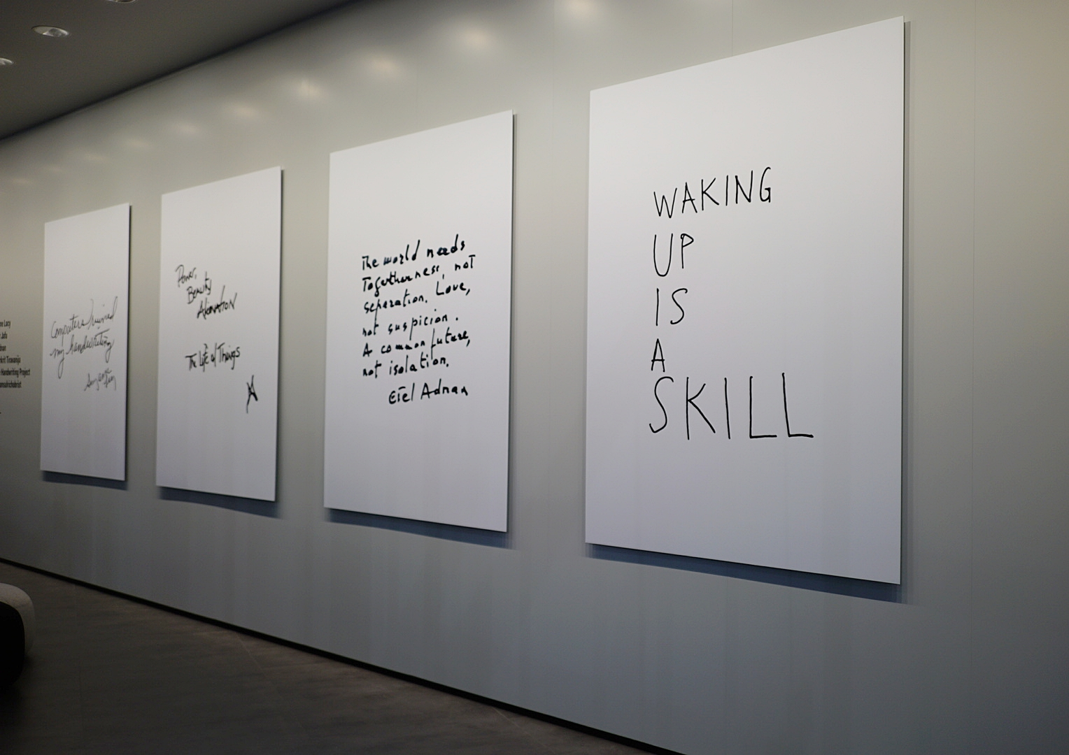 POST_ Installation by Hans Ulrich Obrist + ForYourArt (photo credit Stephen Reuss)