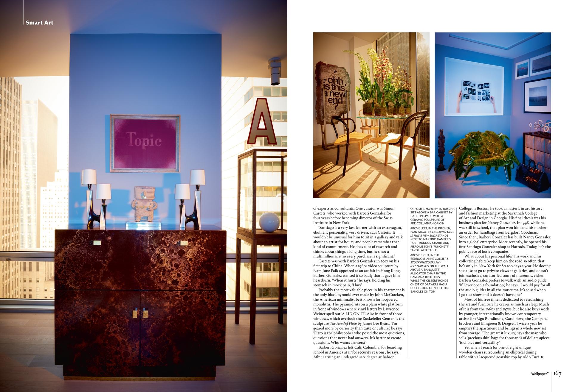 Wallpaper Magazine - Santiago Gonzalez