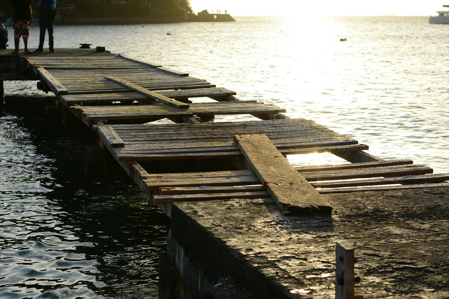 The Dock.