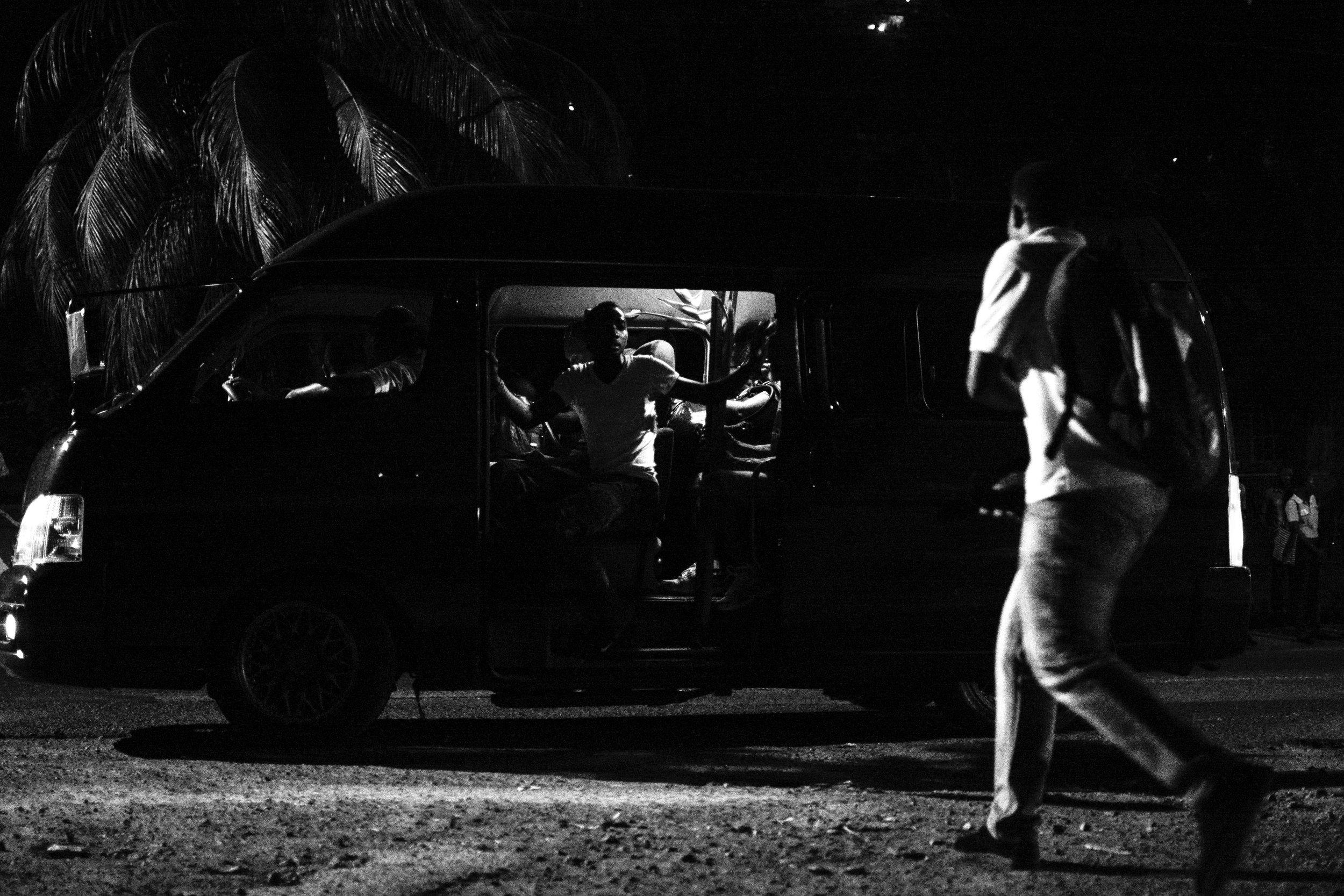 The Last Van Home.