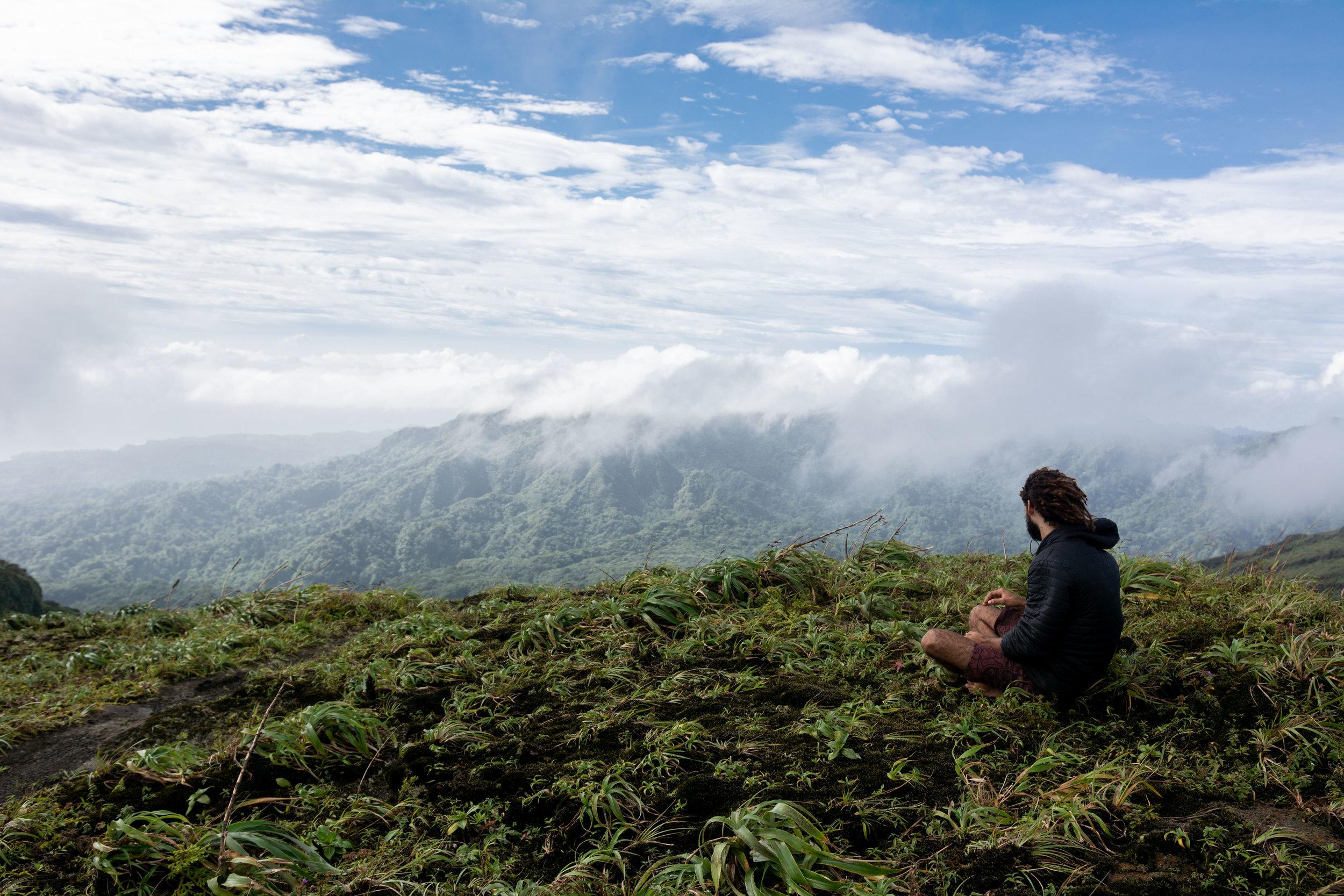 Mountain Meditation.