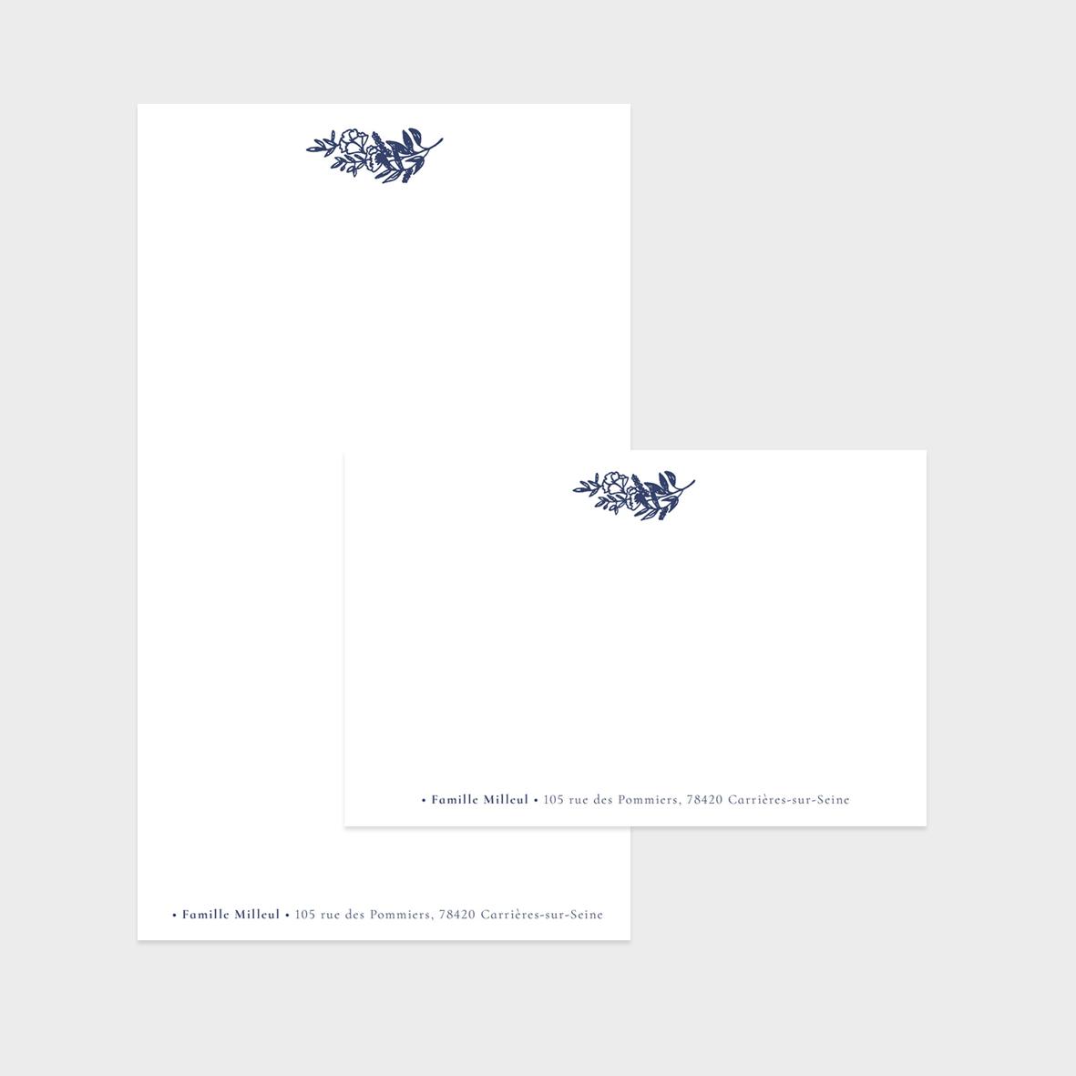 Collection Dessin - carte de correspondance + papier à lettres