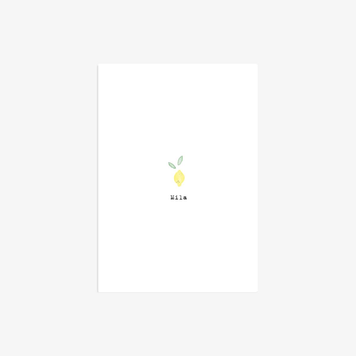 Le Mini-Bout citron