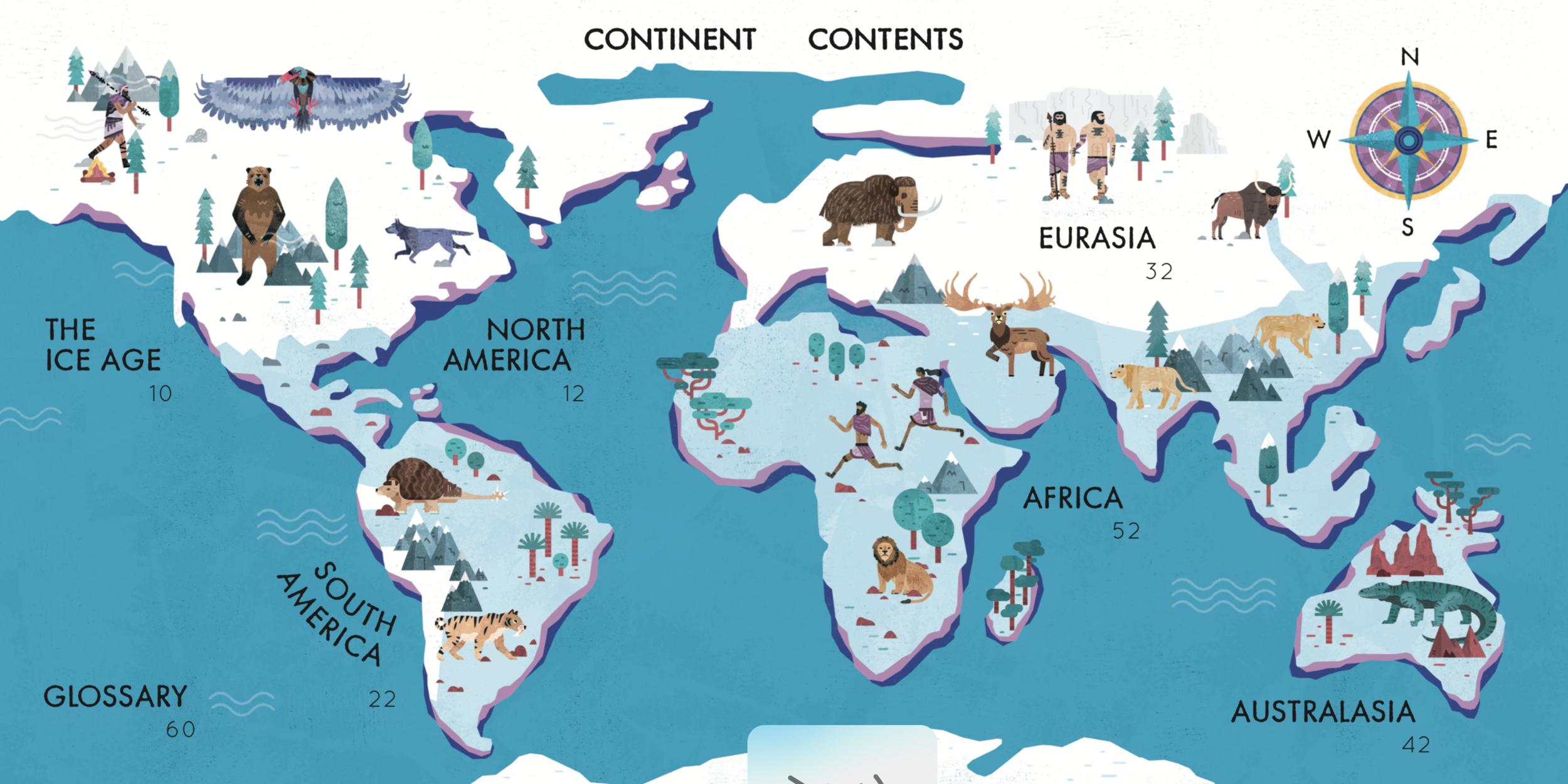 Continent Contents